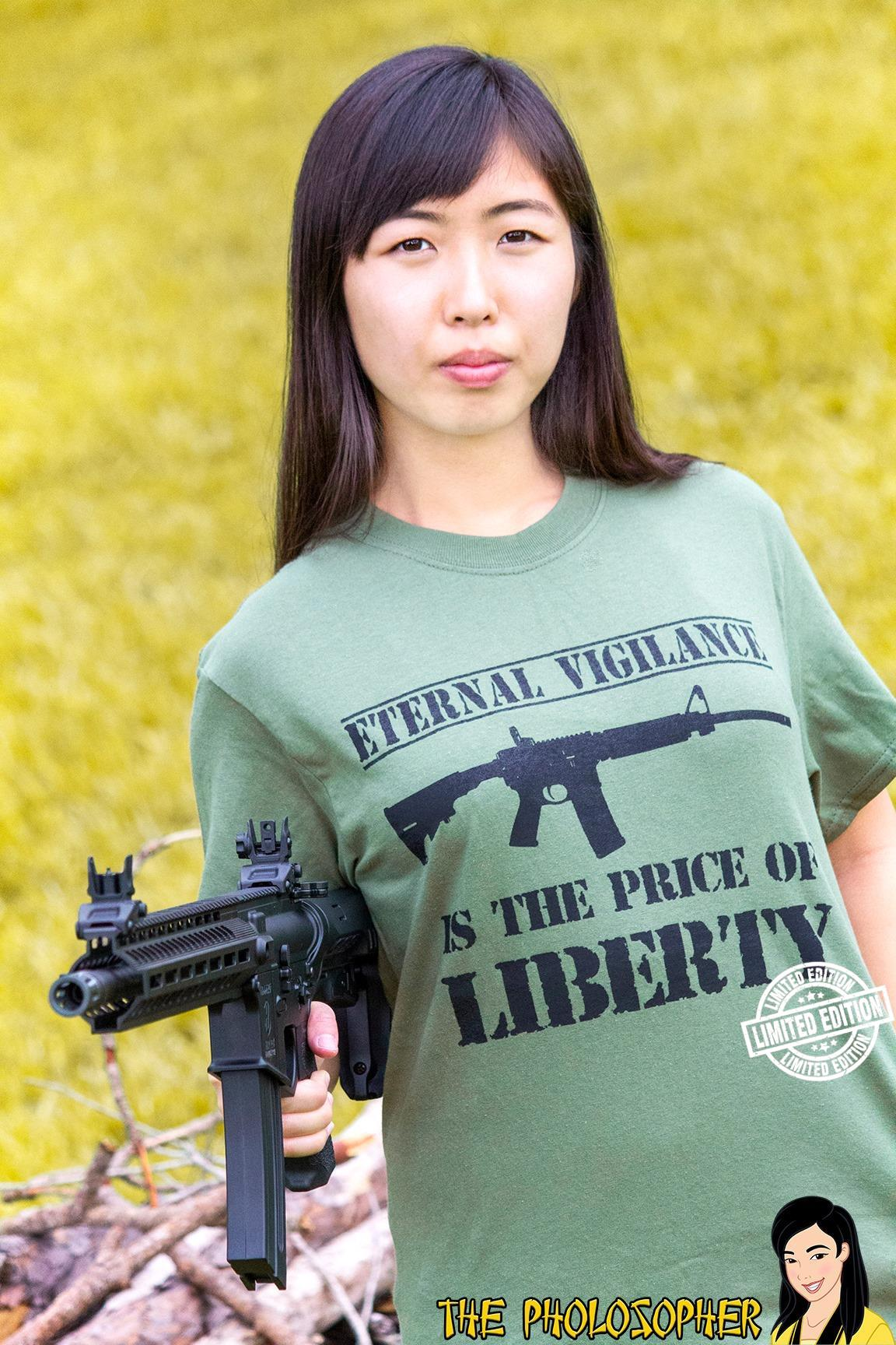 Eternal vigilance is the price of liberty shirt