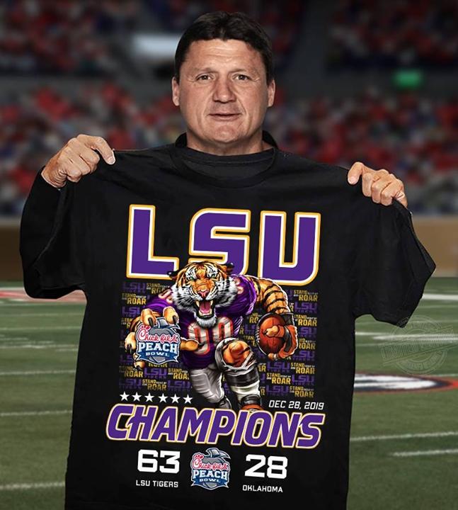 LSU champions 63 28 Shirt