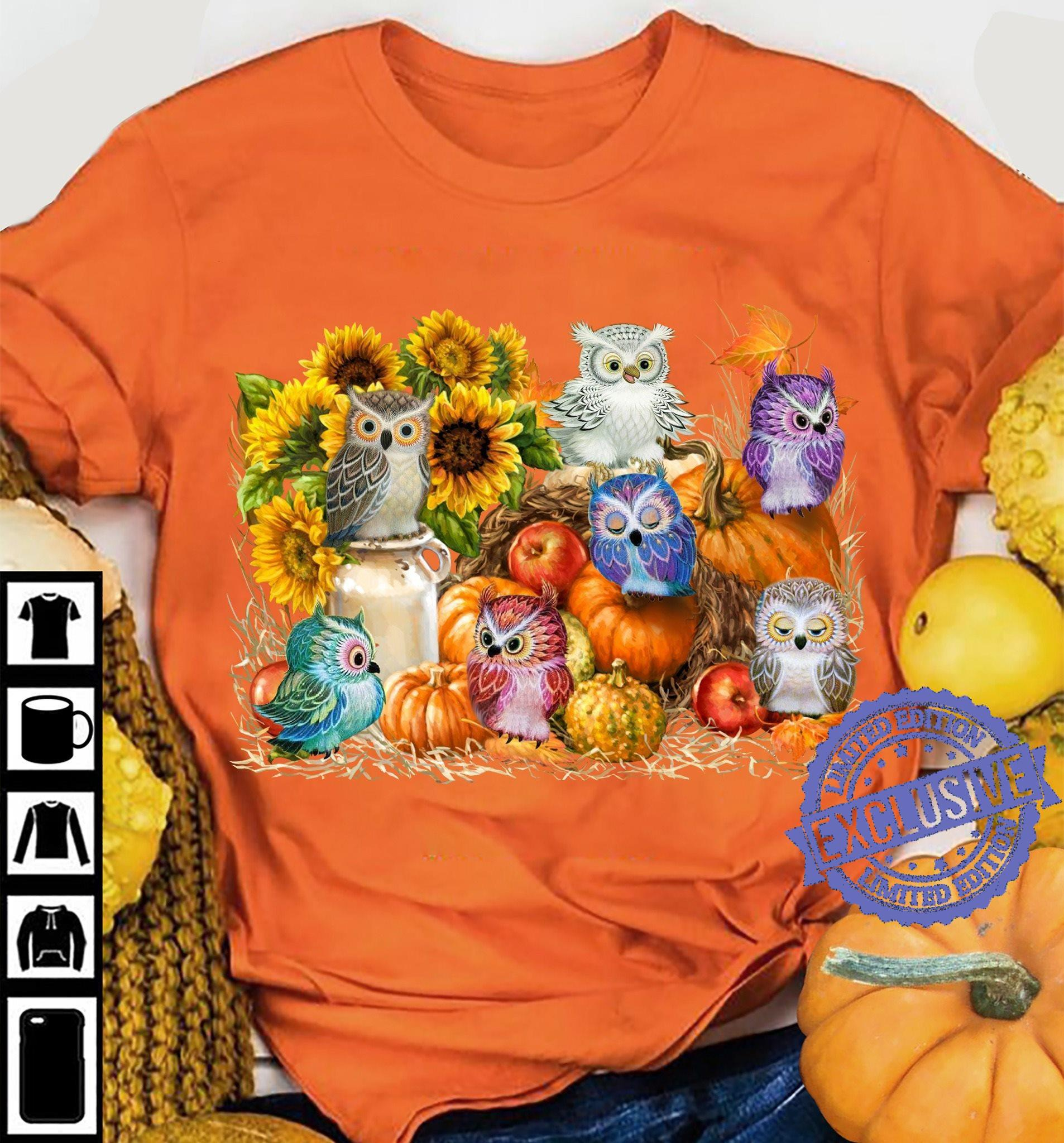 Owls halloween Shirt