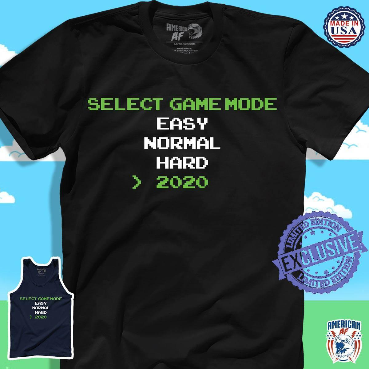 Select game mode easy normal hard 2020 shirt