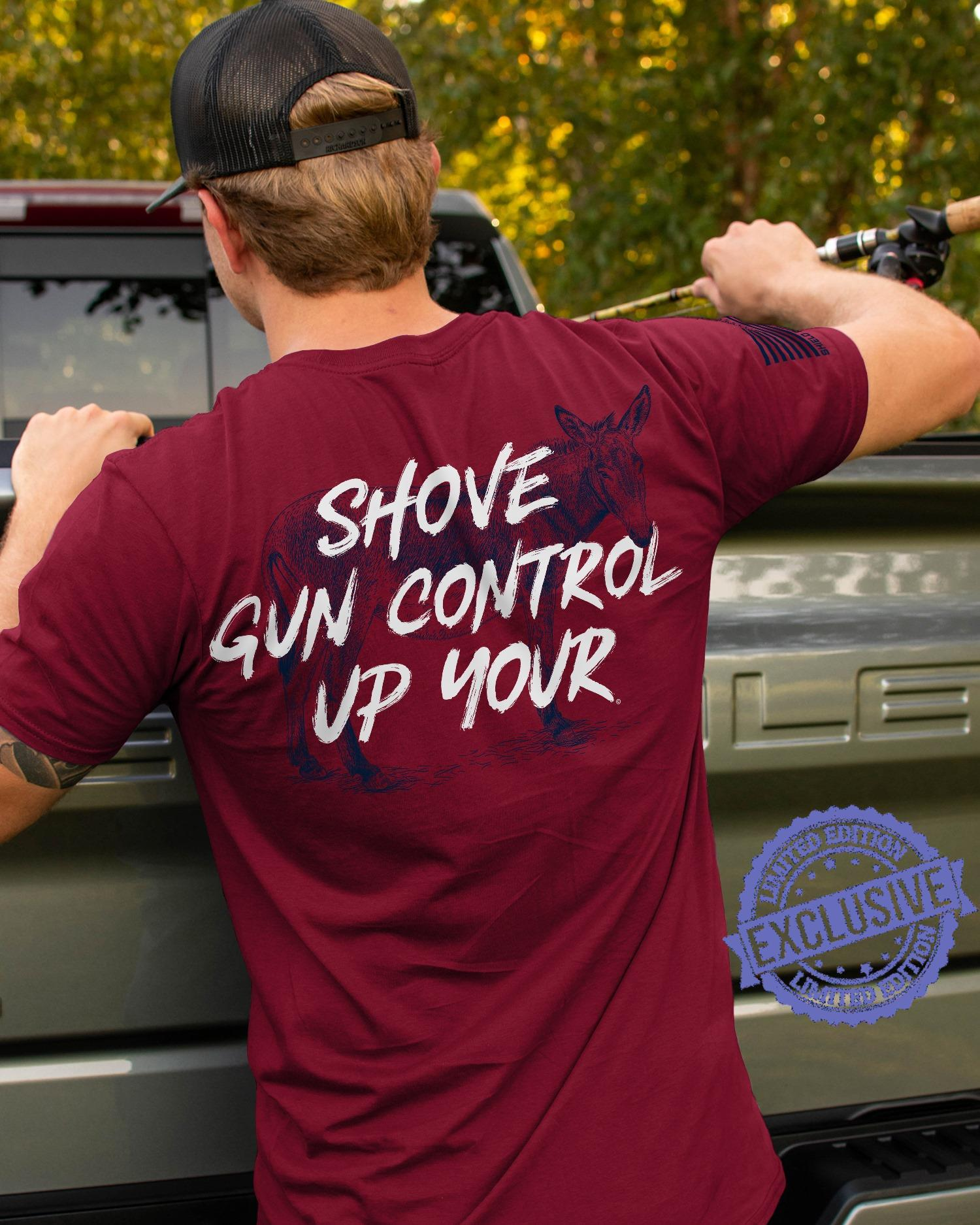 Shove gun control up your shirt