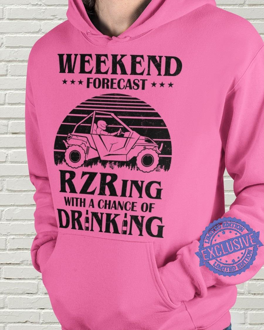 Weekend forecast rzring with a chance drinking shirt (2)